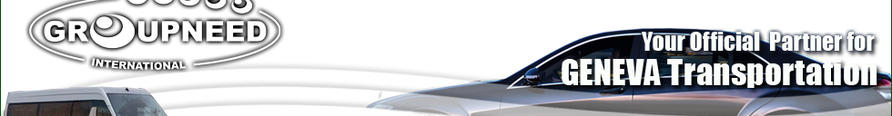 Airport transfer to Geneva from Lyon with Limousine / Minibus / Helicopter / Limousine